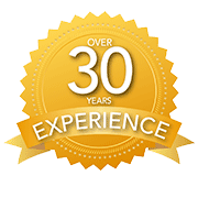 over 33 years of professional experience